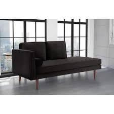 Modern Black Sofas Black Sofas Couches For Less Overstock