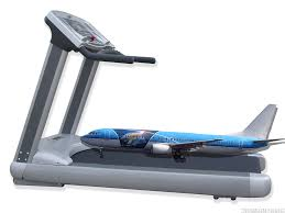 Treadmill Meme - airplane on a treadmill will it take off myconfinedspace