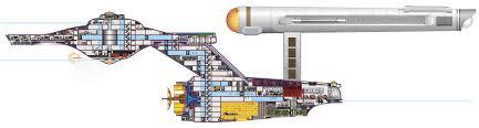 u s s enterprise ncc 1701 cross section trek yourself