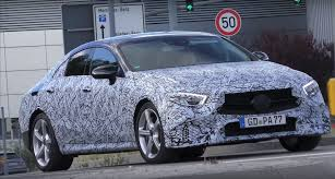 2019 mercedes benz cls cle prototype shows banana shape return