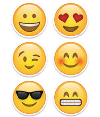 cut outs creative teaching press emoji 3 quot designer cut outs