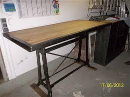 table de cuisine sur mesure detournementsmajeurs table metal et bois sur mesure