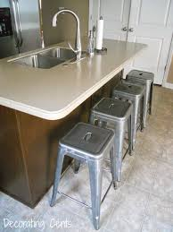 dining room omicron granite countertop with kraus sinks and graff