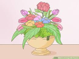 Vases With Fake Flowers How To Arrange Silk Flowers 12 Steps With Pictures Wikihow