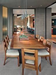 Casual Dining Room Furniture Chairs Modern Dining Room Modern Look Lights Table Narrow