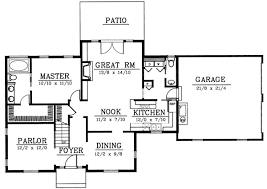 cape cod style floor plans cape cod house plan 3 bedrooms 2 bath 1887 sq ft plan 1 140