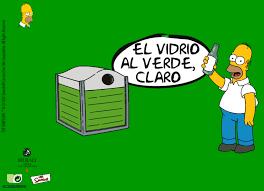 imagenes animadas sobre el reciclaje apúntate al amarillo vidrio