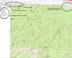 Delorme Maps Using Caltopo With Hps Maps