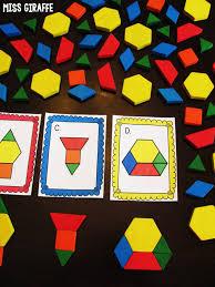 miss giraffe u0027s class composing shapes in 1st grade