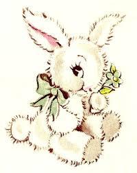 vintage rabbit vintage rabbit illustration printies mini nursery