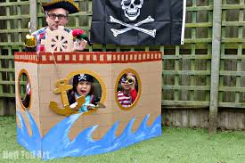 how to make your own photo booth how to make a pirate party photo booth party delights