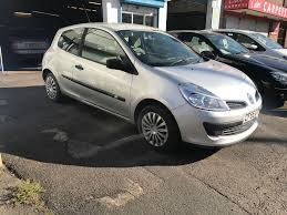 renault clio 1 2 petrol manual 3 door hatchback silver 2005