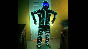 Baby Led Light Suit Halloween Costume by How To Make An El Wire Light Suit And Faq Youtube
