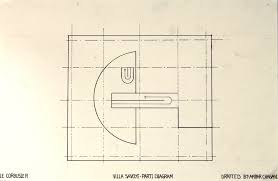 Villa Savoye Floor Plan by Ambar