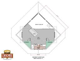 log home floor plans 500 1500 sq ft cascade handcrafted log homes