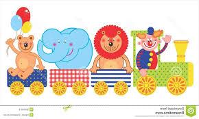 best circus train clip art images free vector art images