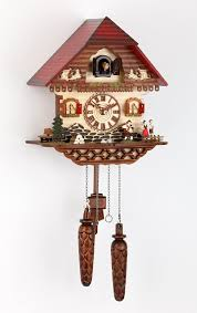 How To Wind A Cuckoo Clock Chalet Quartz Cuckoo Clock Black Forest House By Trenkle Uhren