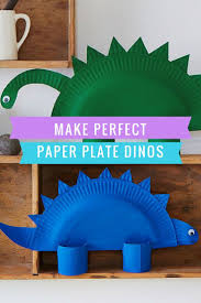 how to make a paper dinosaur activities and crafts