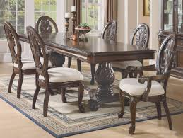 corsica rectangle pedestal dining table hooker furniture corsica rectangle pedestal dining table set with