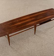 lane mid century modern coffee table mid century modern lane coffee table style 991 09 ebth