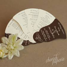 Hand Fan Wedding Programs Wedding Programs Stationeries Gallery U2014 Get Inspired U2014 Cherish