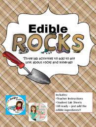 edible rocks edible rock lab bundle by from chopsticks to jars tpt