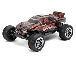 traxxas nitro monster truck earthquake 3 5 1 8 rtr 4wd nitro monster truck blue by redcat