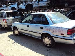 91 toyota corolla 1991 toyota corolla 4 door dx model 1 6l mt fwd color blue z13500