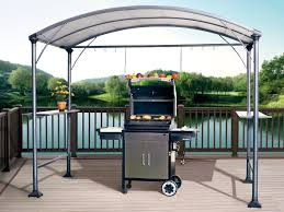patio gazebo canopy amazon com abba patio 9 u0027 x 5 u0027 outdoor backyard bbq grill gazebo