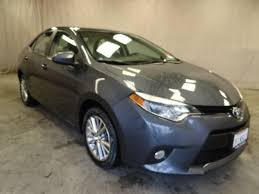 toyota 2014 corolla le certified used 2014 toyota corolla sedan for sale in sunnyvale