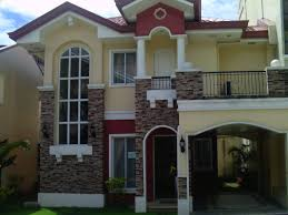peachy design 12 simple 2 storey house philippines small with
