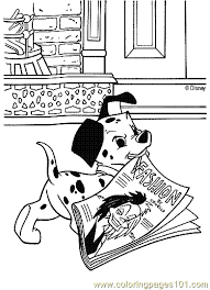 101 dalmatians coloring page 09 coloring page free 101