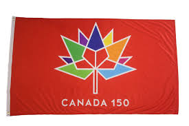 What Leaf Is On The Canadian Flag Canada 150 Year Anniversary Flag 3 X 5 Feet Amazon Ca Patio