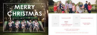 christmas gift certificate juniper lane photography findlay ohio