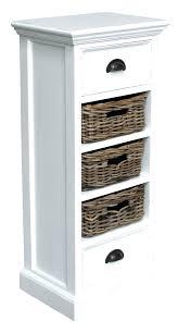 Wicker Bathroom Furniture Storage Storages Baskets White Rattan Bathroom Storage Units