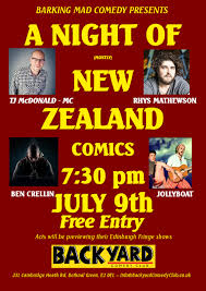 kiwi comedy in london