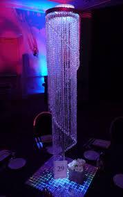 Crystal Chandelier Centerpiece Non Floral Centerpieces U2014 Eggsotic Events