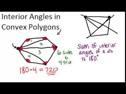 How To Calculate Interior Angles Of An Irregular Polygon Interior Angles In Convex Polygons Ck 12 Foundation