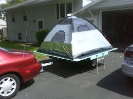 removable tent platform for trailer 9 steps