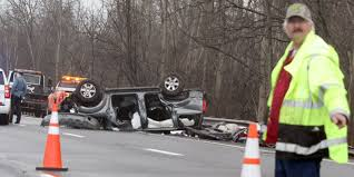 nissan pathfinder zombie ad fatal crash on parkway in middletown