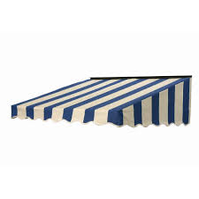 Striped Awning Nuimage Awnings 5 Ft 2700 Series Fabric Door Canopy 17 In H X