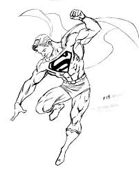 drawing superman images collections hd gadget