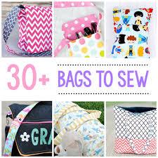 25 bag sewing patterns