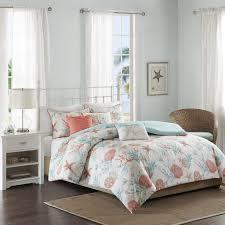 bedroom queen duvet covers with brown wooden floor and brown