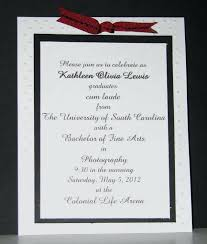 high school graduation announcements wording idea sle of graduation invitation wording or high school