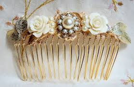 vintage accessories bridal hair comb wedding hair accessories wedding hair comb
