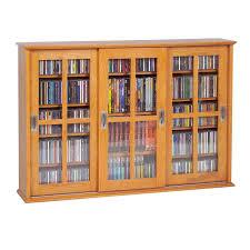 wall mount media cabinet leslie dame enterprises ms 525 mission style sliding glass cabinet