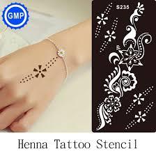 new design customize design star stencil henna tattoo stencil