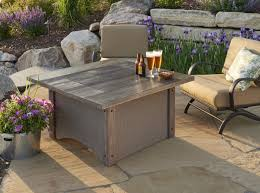 Rectangle Fire Pit Table Pine Ridge 2424 Square Fire Pit Table Fire Pits Fire Pits
