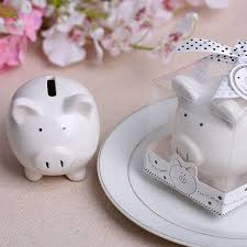 baptism piggy bank 30pcs christening baptism gifts ceramic mini piggy bank coin box